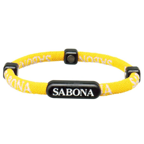 Sabona Yellow Athletic Bracelets