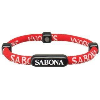 Sabona Red Athletic Bracelets (Pack of 2)