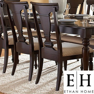 ETHAN HOME Clara Elegance Cherry Side Chair (Set of 2)