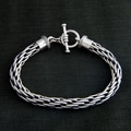 Sterling Silver 'Courage' Bracelet (Indonesia)