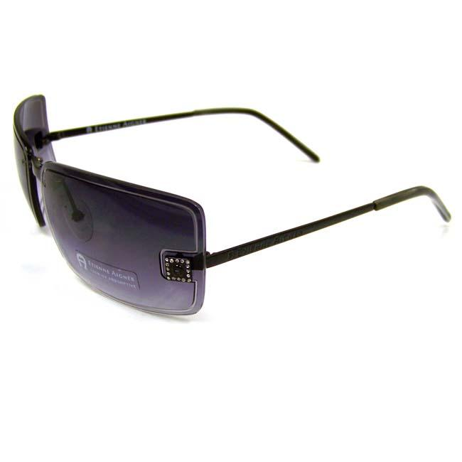 Etienne Aigner Women's 'EA Voyeur' Fashion Sunglasses with Purple Frame