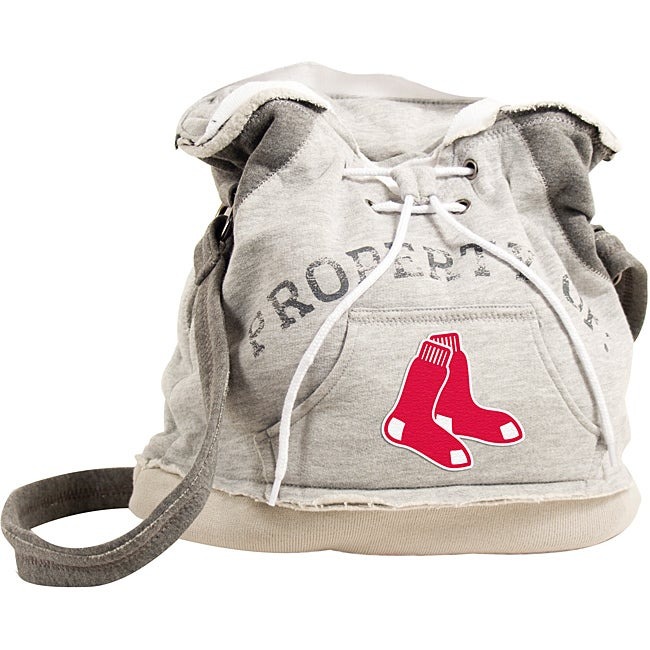 Boston Red Sox Hoodie Duffel Handbag