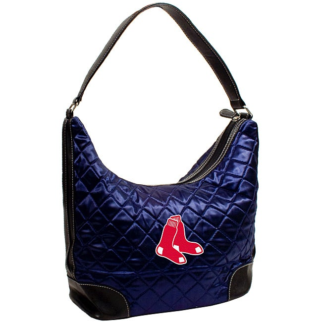 Boston Red Sox Quilted Hobo Handbag