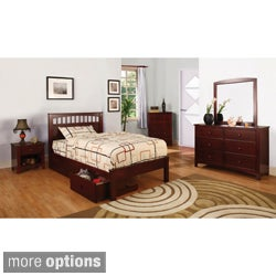 Furniture of America Gavin 4-piece Full-size Platform Bed