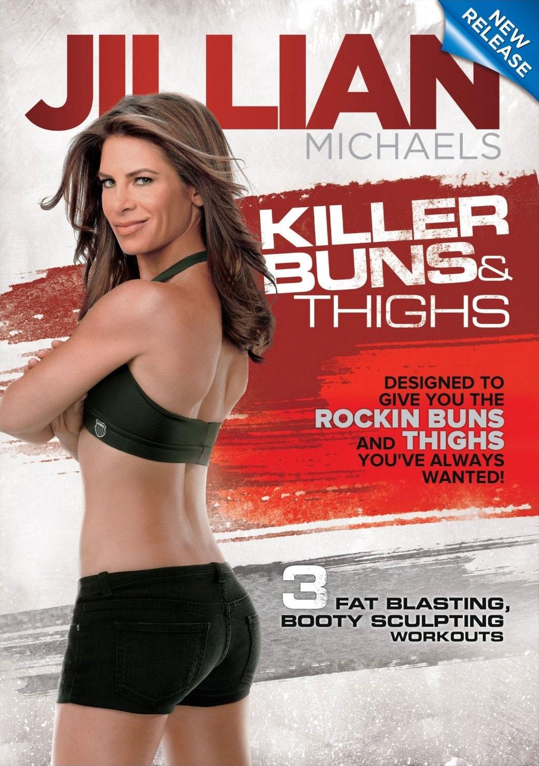 Jillian Michaels Killer Buns & Thighs (DVD)