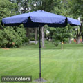 Deluxe Outdoor 9-foot Tilt Umbrella