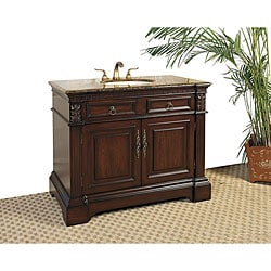 Granite Top 42-inch Single-sink Vanity