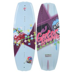 Gator Boards 'Lexy' 124 cm Blue/ Multi Wakeboard
