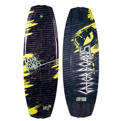 Gator Boards 'Lux' 132 cm Black/ Multi Wakeboard
