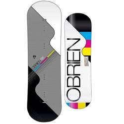 O'Brien 'R5' 139 cm White/ Multi Wakeboard