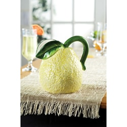 American Atelier Fresh Fruit Lemon Pitcher