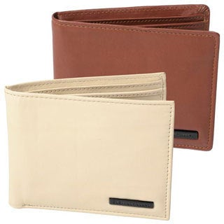Geoffrey Beene Men's Leather Billfold Wallet