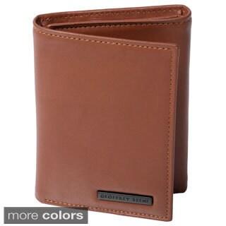 Geoffrey Beene Men's Leather Tri-fold Wallet