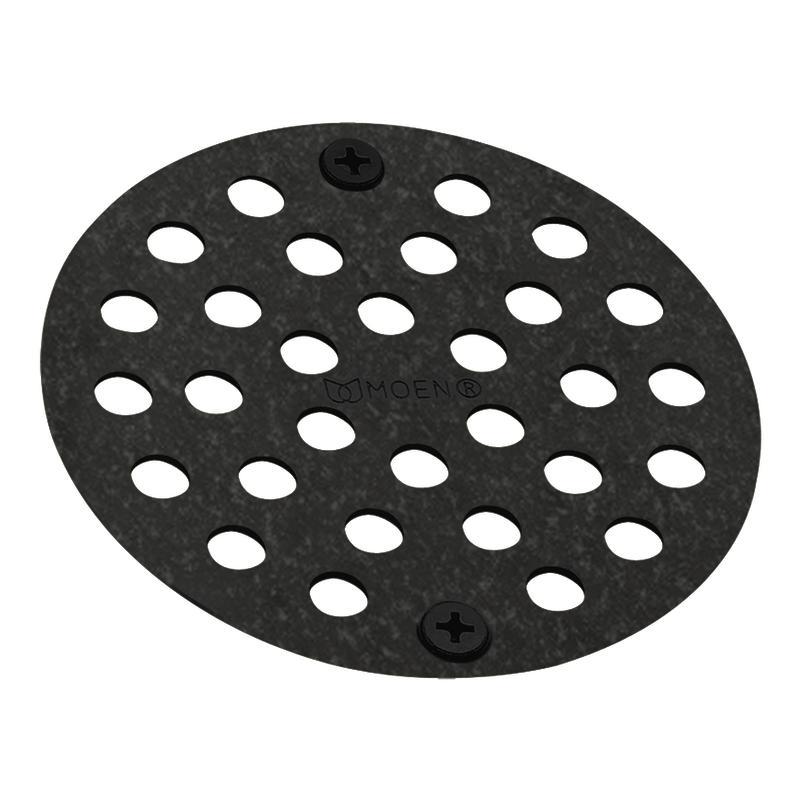 Moen Pewter 4-inch Shower Strainer