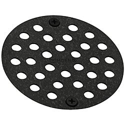 Moen Pewter 4-inch Shower Strainer
