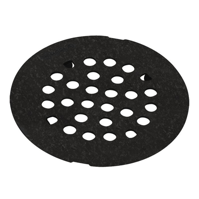 Moen Pewter 4.25-inch Snap-in Shower Strainer