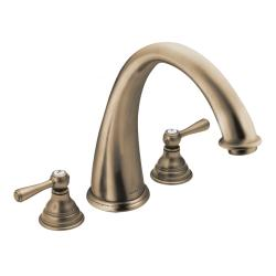 Moen Antique Bronze Double-handle High Arc Roman Tub Faucet
