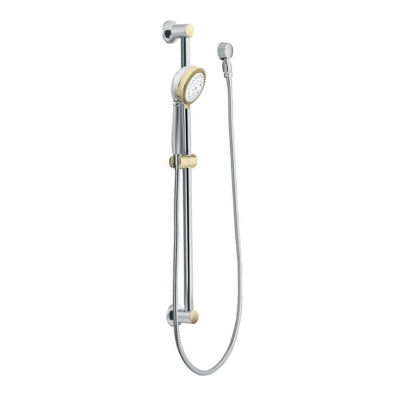 Moen Chrome/ Polished Brass Handheld Shower