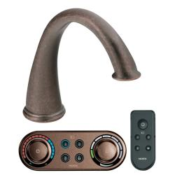 Moen Oil Rubbed Bronze High Arc Roman Tub Faucet with Iodigital Technology