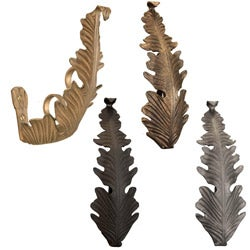 Casa Artistica by Menagerie Large Leaf Brackets (Set of 2)