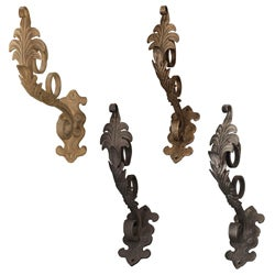 Casa Artistica by Menagerie Elongated Leaf Brackets (Set of 2)