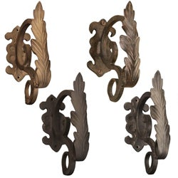 Casa Artistica by Menagerie Scroll Leaf Brackets (Set of 2)