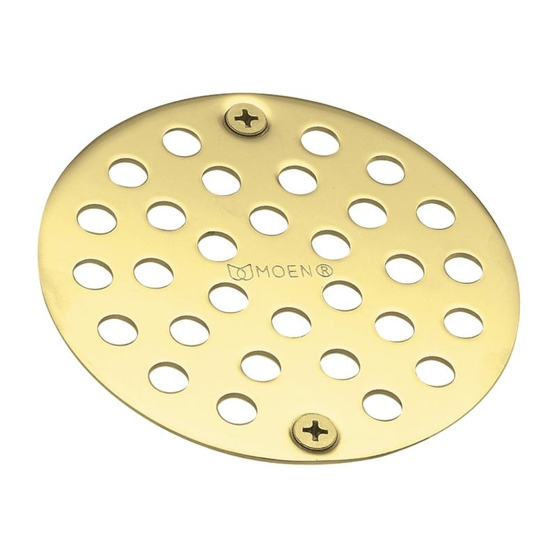 Moen Polished Brass Tub and Shower Drain Cover