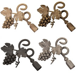 Casa Artistica by Menagerie Grapevine Finials (Set of 2)