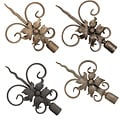 Casa Artistica by Menagerie Twisted Spear Finials (Set of 2)