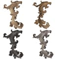 Casa Artistica by Menagerie Gryphon Finials (Set of 2)
