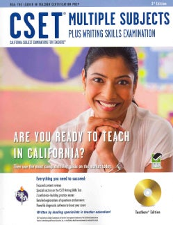 CSET Multiple Subjects Plus Writing Skills Examination: Testware Edition