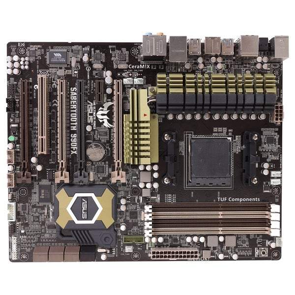 Asus SABERTOOTH 990FX Desktop Motherboard - AMD 990FX Chipset - Socke