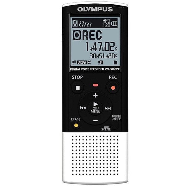 Olympus VN8000PC Digital Voice Recorder with PC Connection (Refurbished)
