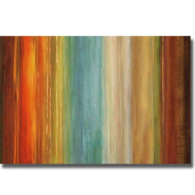 Max Hansen 'Wavelength I' Canvas Art