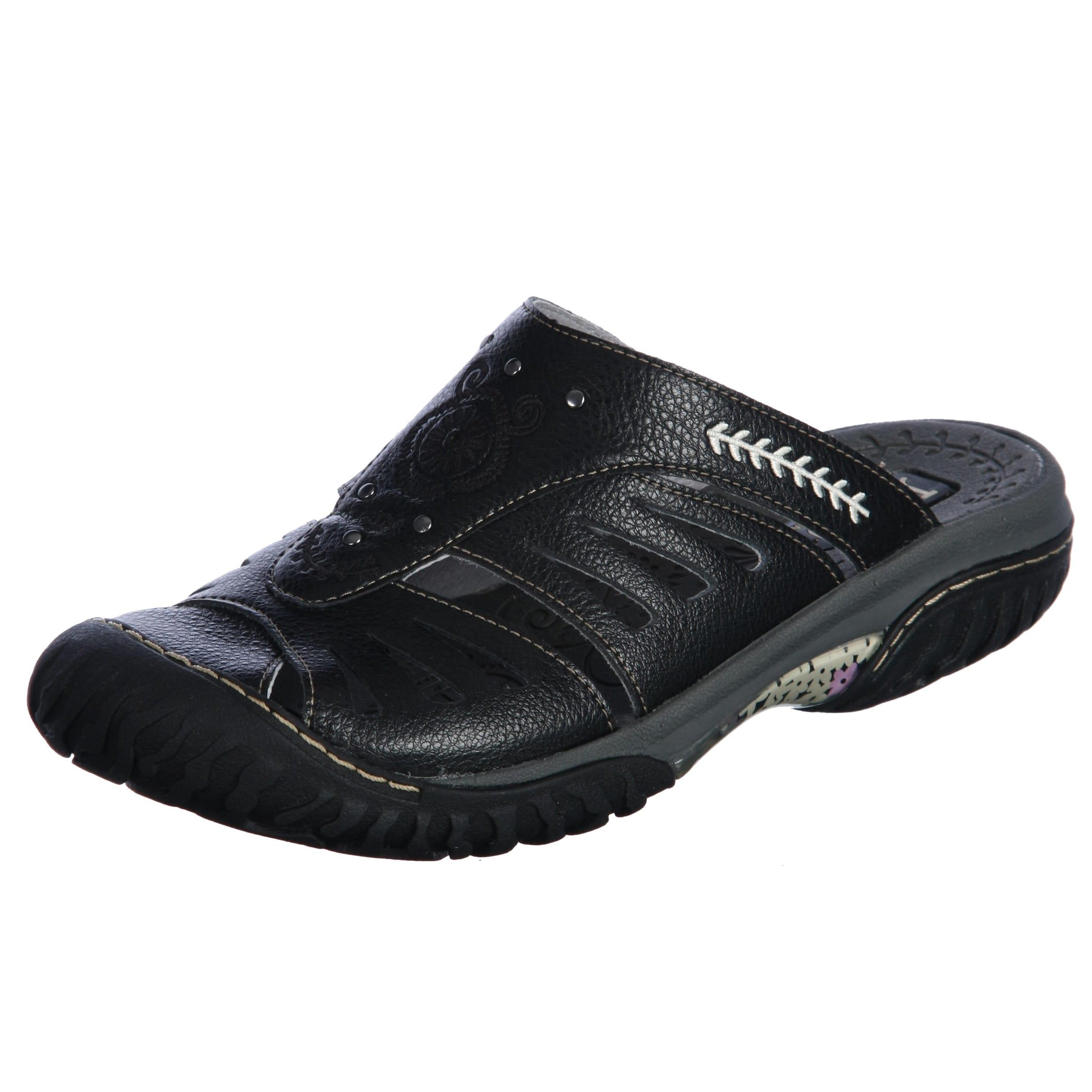 jambu s plum black slip on casual shoes