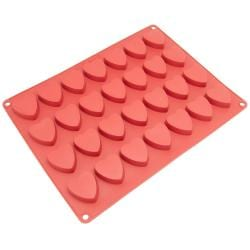 Freshware 28-cavity Silicone Mini Heart, Chocolate, Candy and Pastry Mold