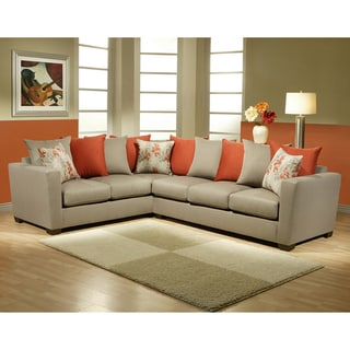 Furniture of America Dimas 2-piece Sectional Sofa Set