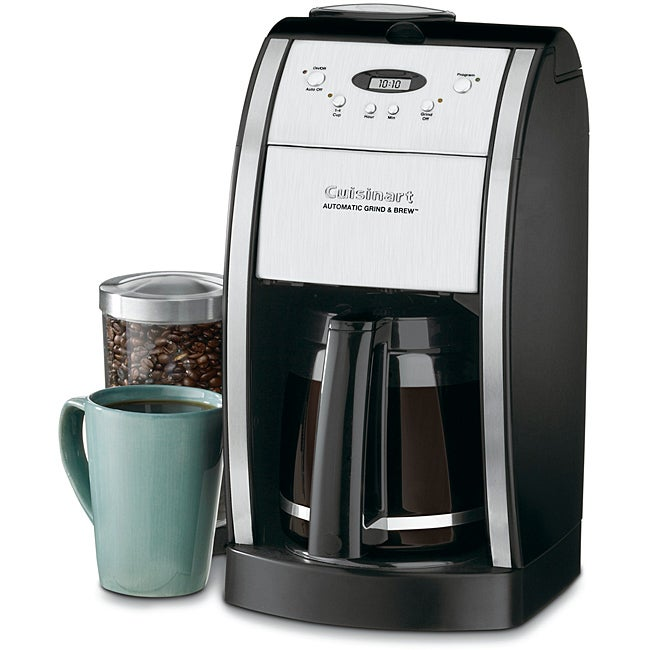 Cuisinart DGB-550BK Grind-and-Brew 12-cup Automatic Coffeemaker (Refurbished)