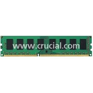 Crucial 16GB, 240-pin DIMM, DDR3 PC3-8500 Memory Module