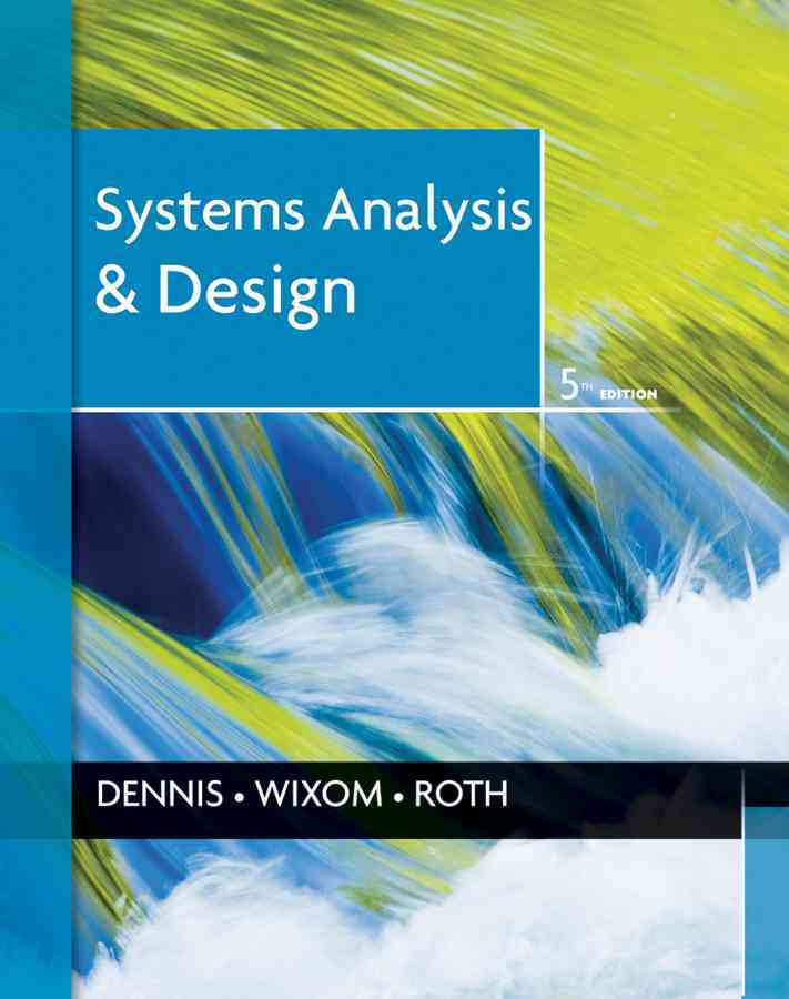 Systems Analysis and Design (Hardcover)