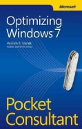 Optimizing Windows 7: Pocket Consultant (Paperback)