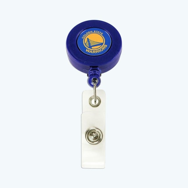 Golden St. Warriors Retractable Badge Reel