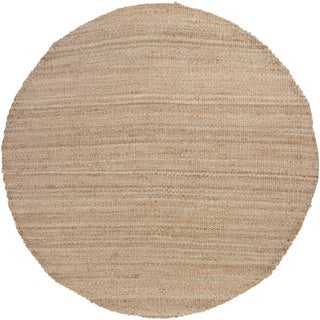 Handwoven Mandara Natural Living Casual Jute Rug (7'9