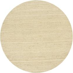 Hand-woven Mandara Natural Living Jute Rug (7'9 Round)