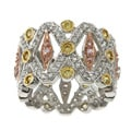 La Preciosa Sterling Silver Cubic Zirconia Filigree Ring