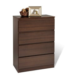 Escala Espresso Four-drawer Dresser