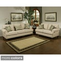 Furniture of America Prosper Sofa and Loveseat Furniture Set