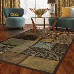 Lazio Brown Area Rug (8' x 11')