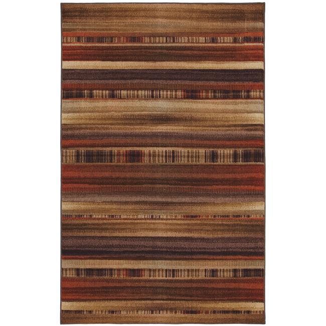 Arroyo Brown Multi Rug (5' x 8')