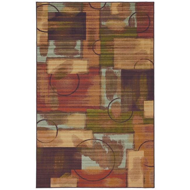 Outer Limits Multicolor Area Rug (8' x 10')
